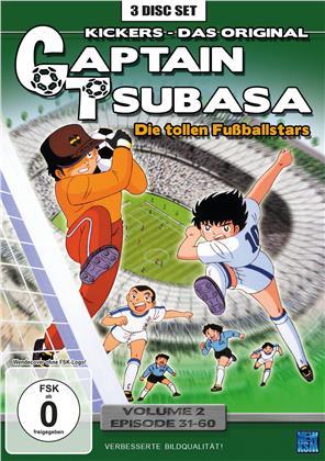 Captain Tsubasa - Die tollen Fussballstars - Vol. 2 / Episoden 31-60 (3 DVDs)