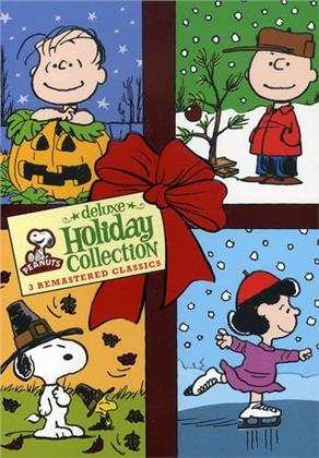 Peanuts - Holiday Collection (Deluxe Edition, 3 DVD)