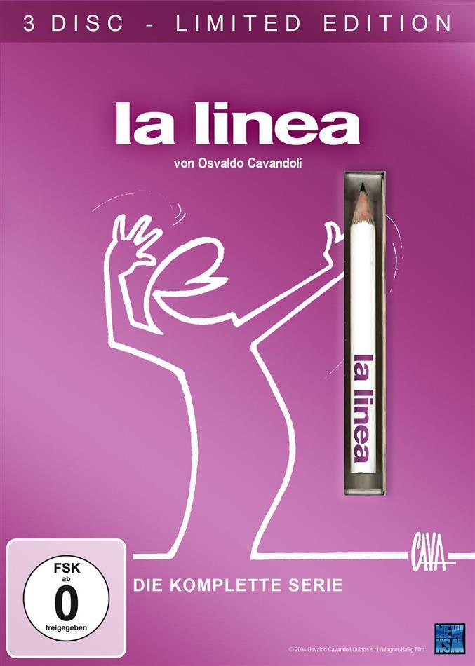 La Linea - Die komplette Serie (Limited Edition, 3 DVDs)