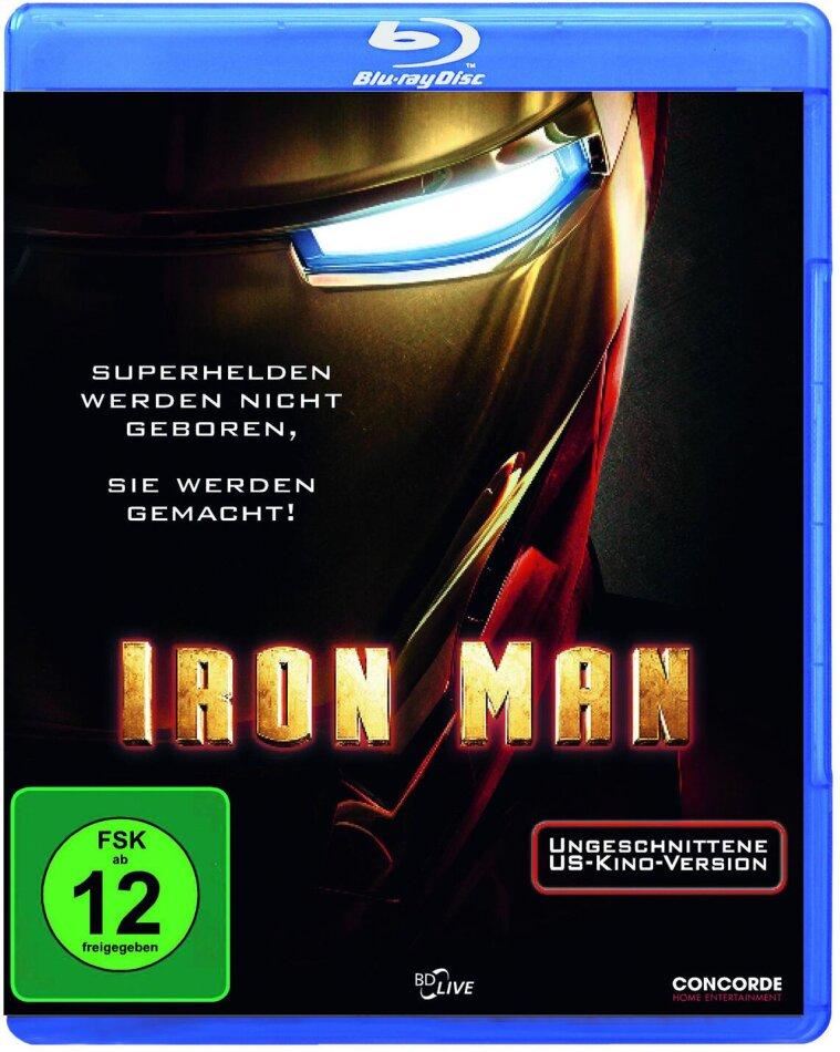 Iron Man - (Ungeschnittene US-Kinoversion) (2008)