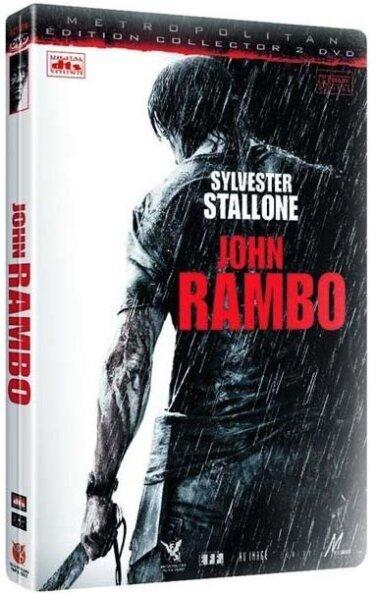 John Rambo (2008) (Collector's Edition, Steelbook, 2 DVDs)