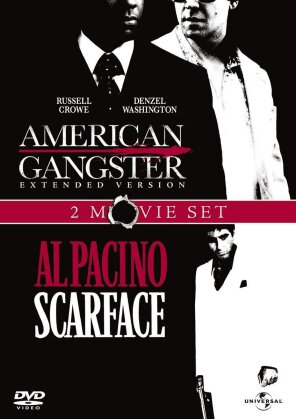 American Gangster / Scarface (Extended Edition, Uncut, 2 DVD)