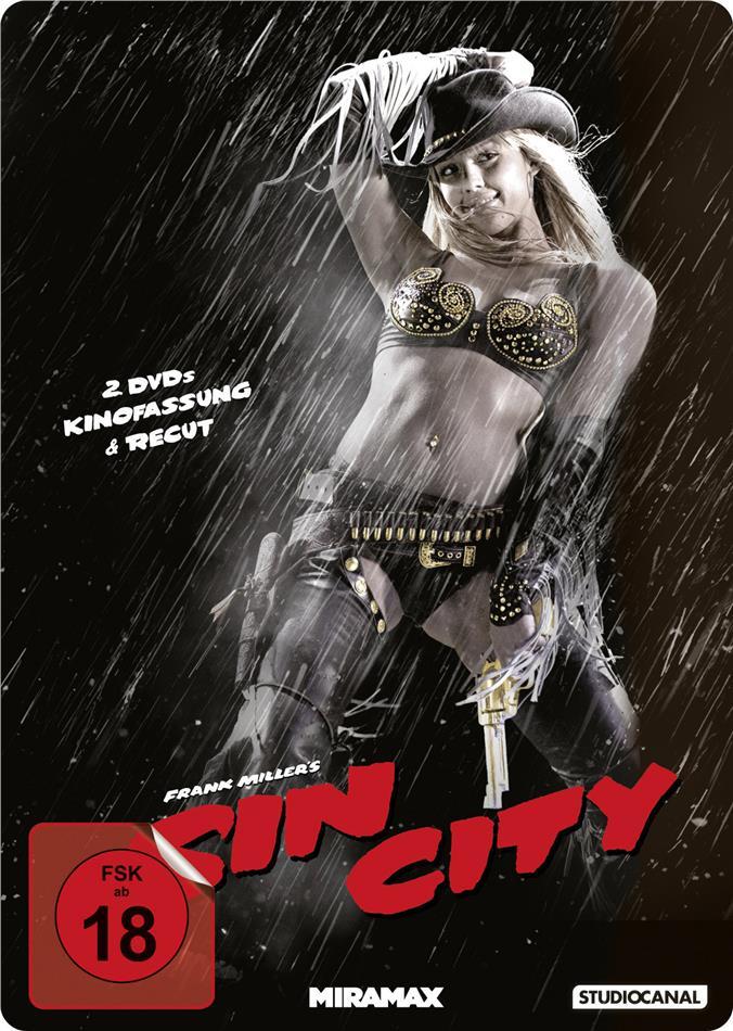 Sin City (2005) (Kinofassung & Recut-Version, Steelbook, 2 DVDs)