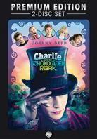 Charlie und die Schokoladenfabrik (2005) (Premium Edition, 2 DVDs)
