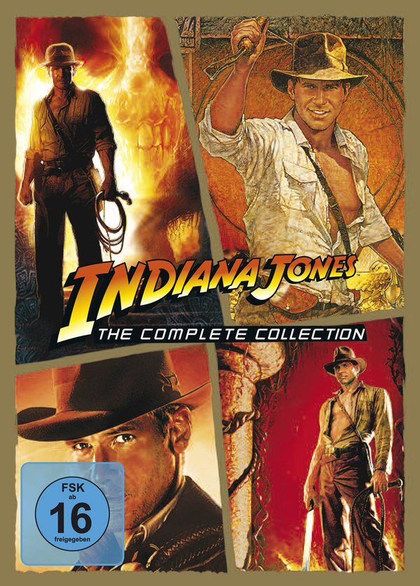 Indiana Jones - The Complete Collection (5 DVD)