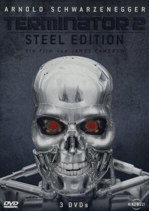 Terminator 2 (1991) (Director's Cut, Steelbook, 3 DVDs)