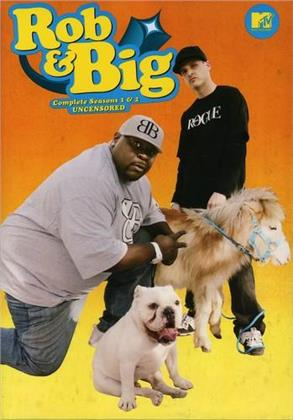 Rob & Big - Seasons 1 & 2 (Uncensored 4 DVDs)