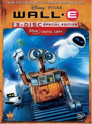 Wall-E (2008) (Special Edition, 3 DVDs)