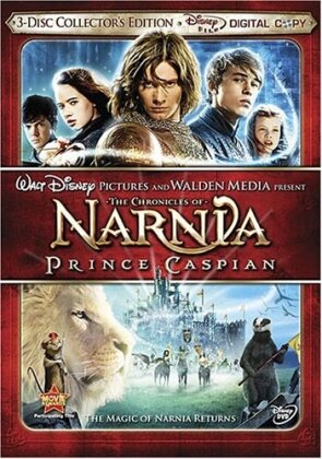 The Chronicles of Narnia 2 - Prince Caspian (2008) (Collector's Edition, Digital Copy + DVD)