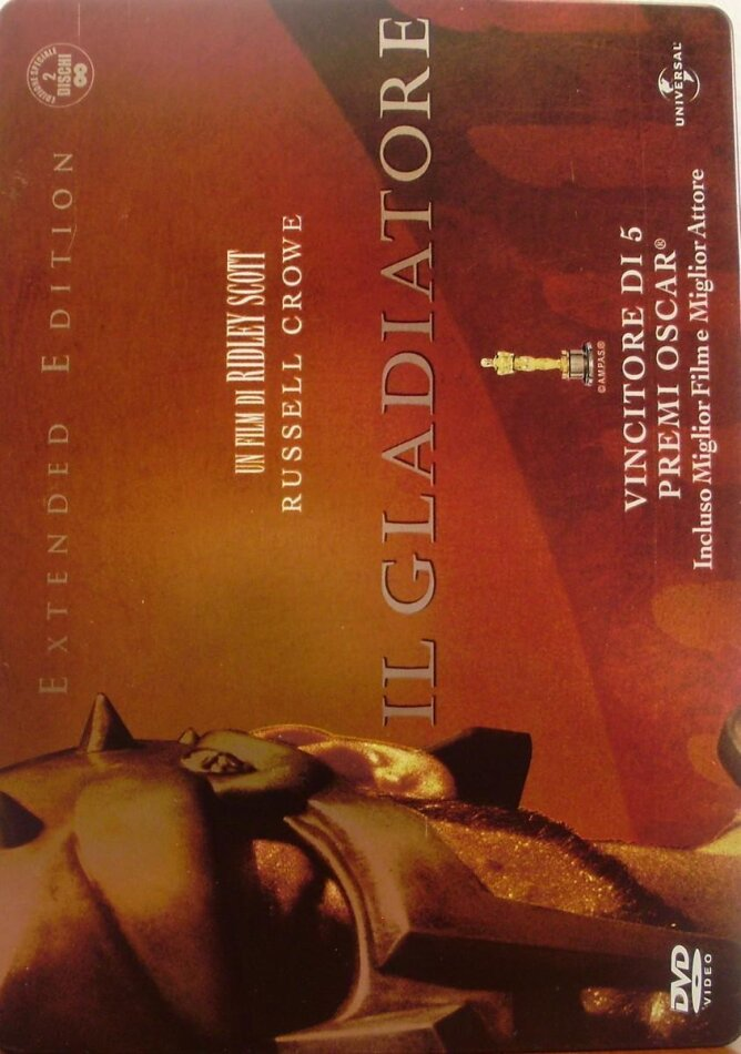 Il Gladiatore - (Wide Pack Metal Collection 2 DVD) (2000)