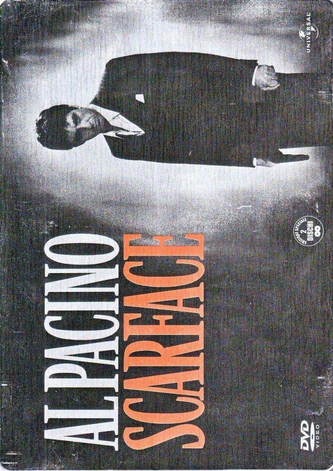 Scarface (1983) (Steelbook, 2 DVDs)