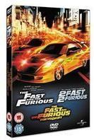 The Fast and the Furious 1 - 3 (Steelbook, 3 DVDs)