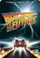 Back to the future Trilogy (Steelbook, 4 DVDs)