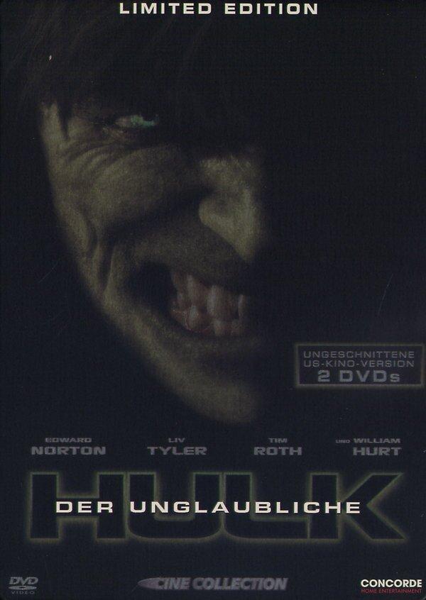 Der unglaubliche Hulk (2008) (Limited Edition, Steelbook, 2 DVDs)