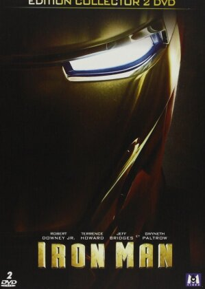Iron Man (2008) (Collector's Edition, Steelbook, 2 DVD)