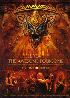 Gamma Ray - Hell Yeah - The Awesome Fourso (2 DVDs)