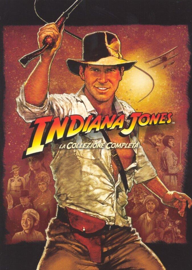 Indiana Jones - La Quadrilogia (5 DVD)