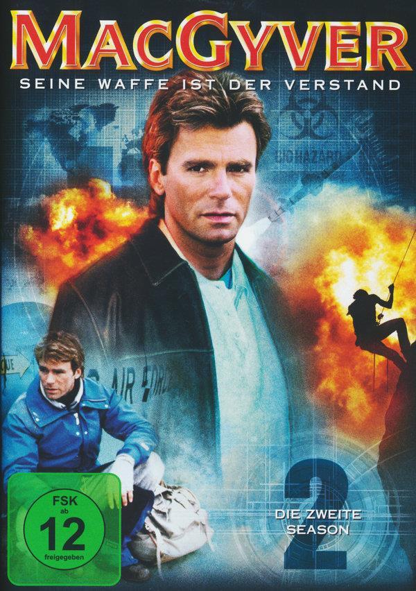 MacGyver - Staffel 2 (6 DVDs)