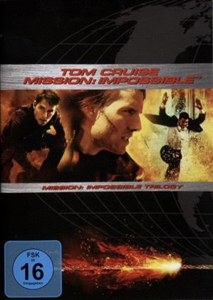 Mission Impossible 1-3 (3 DVDs)