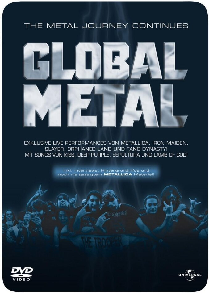 Global Metal (Steelbook)