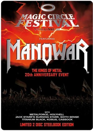 Manowar - Magic Circle Festival Vol. 2 (Steelbook, 2 DVDs)