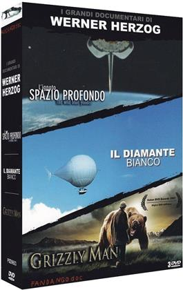 Werner Herzog - L'ignoto spazio... / Diamante bianco / Grizzly Man (3 DVDs)