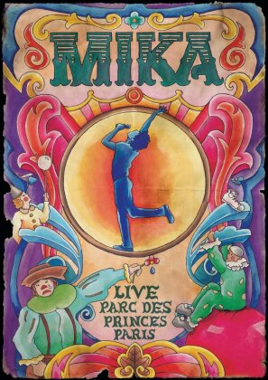Mika - Parc des Princes (Deluxe Edition, DVD + Booklet)