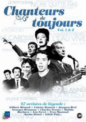 Various Artists - Chanteurs de toujours - Vol. 1 & 2 (s/w, 2 DVDs)