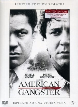 American Gangster - (+ Booklet) (2007) (Definitive Edition, 3 DVD)