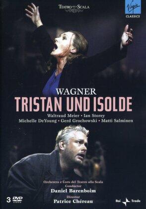 Orchestra of the Teatro alla Scala, Daniel Barenboim, … - Wagner - Tristan und Isolde (Erato, 3 DVDs)