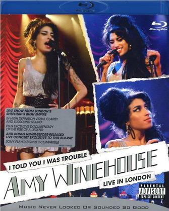 Amy Winehouse - I told you i was trouble - Live in London (Shuber)