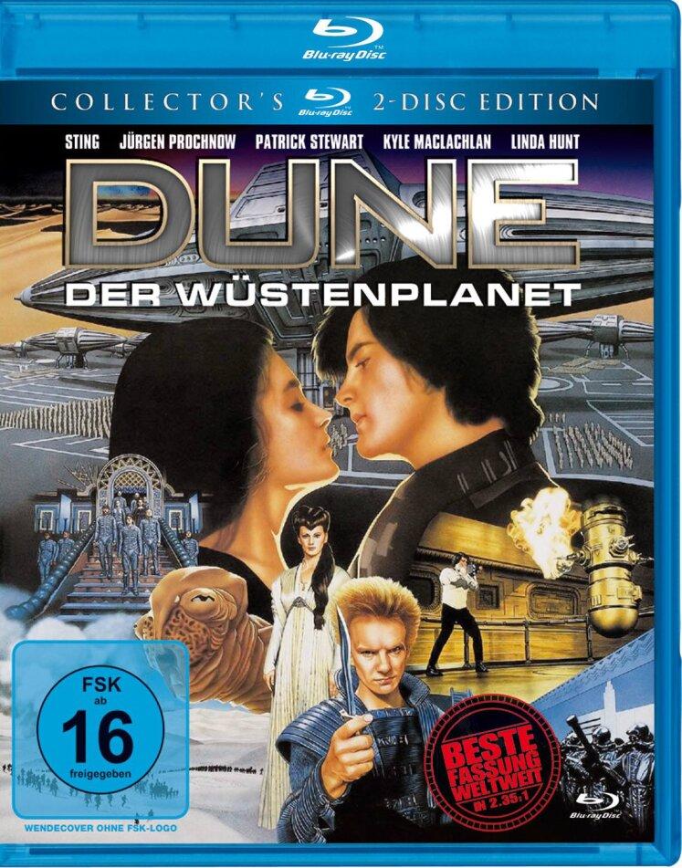 Dune - Der Wüstenplanet (1984) (Collector's Edition, 2 Blu-rays)