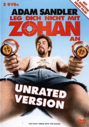 Leg dich nicht mit Zohan an (Unrated, 2 DVDs)