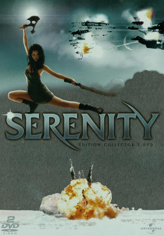 Serenity (2005) (Collector's Edition, Limited Edition, Steelbook, 2 DVDs)