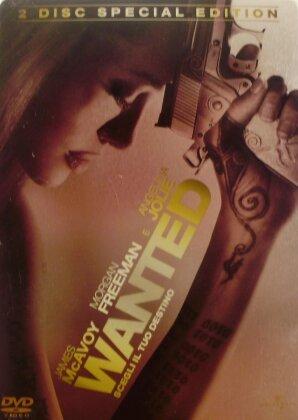 Wanted (2008) (Steelbook, 2 DVDs)