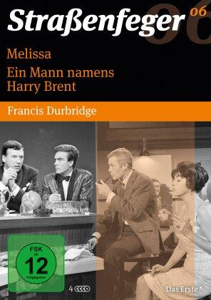 Strassenfeger Vol. 6 - Melissa / Ein Mann namens Harry Brent (s/w, 4 DVDs)