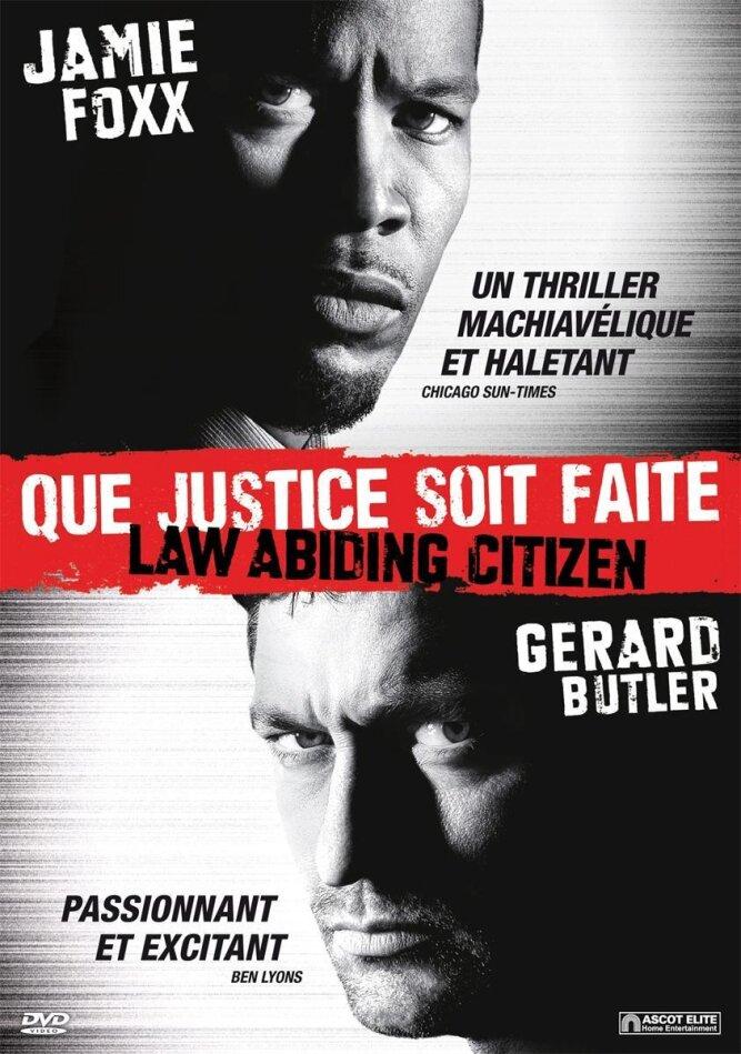 Que justice soit faite - Law Abiding Citizen (2009)