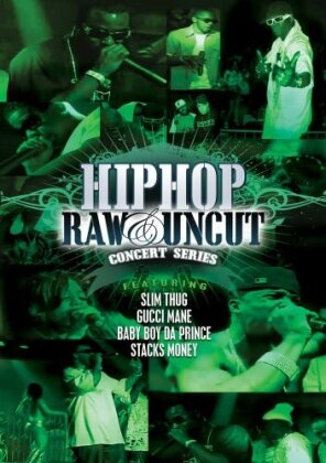 Various Artists - Hip Hop Raw & Uncut: Concert Series - Platinum (2 DVDs)