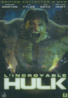 L'incroyable Hulk (2008) (Lenticular, Collector's Edition, 2 DVDs)
