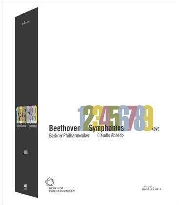 Berliner Philharmoniker, … - Beethoven - Symphonies Nos. 1-9 (Euro Arts, 4 DVDs)