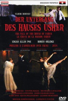 Wiener Symphoniker, Lawrence Foster & Scott Hendricks - Debussy - Der Untergang des Hauses Usher (Capriccio, Bregenzer Festspiele)
