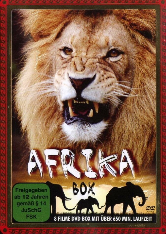 Afrika (Steelbook, 3 DVDs)