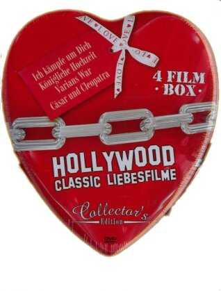 Hollywood Classic Liebesfilme (Collector's Edition, Steelbook, 4 DVDs)