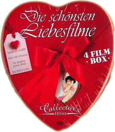 Die schönsten Liebesfilme (Collector's Edition, Steelbook, 4 DVDs)