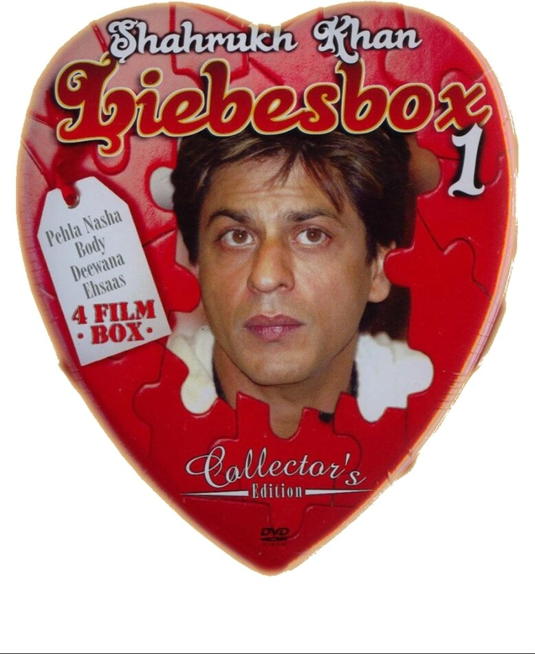Shahrukh Khan Liebes Box 1 (Collector's Edition, Steelbook, 4 DVDs)
