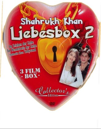 Shahrukh Khan Liebes Box 2 (Collector's Edition, Steelbook, 3 DVD)