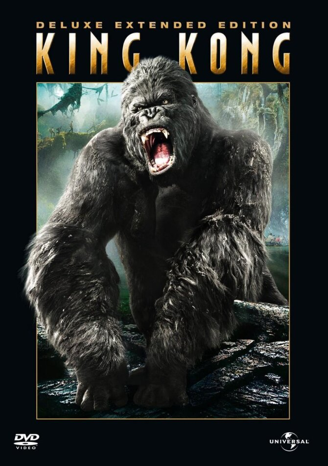 King Kong - (Deluxe Extended Edition 3 DVDs) (2005)