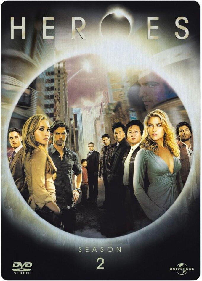 Heroes - Staffel 2 (Steelbook, 4 DVDs)