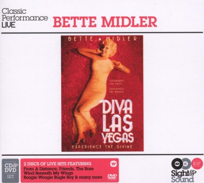 Bette Midler - Diva Las Vegas (Sight & Sound + CD)