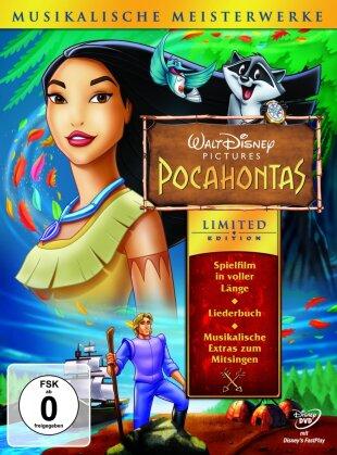 Pocahontas (1995) (Musikalische Meisterwerke, + Liederbuch, Limited Edition)